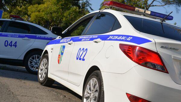 Автомобиль милиции - Sputnik Абхазия