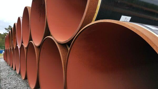 Строительство газопровода Северный поток-2 в Германии - Sputnik Аҧсны