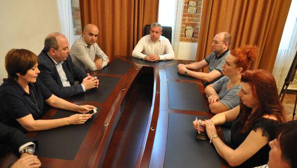 Совместное заседание минздрава и экспертов роспотребнадзора - Sputnik Абхазия