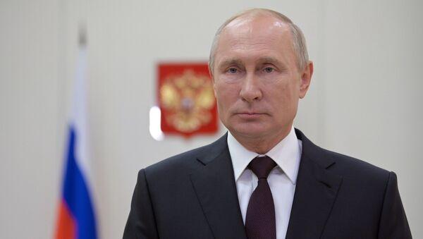 Президент РФ В. Путин поздравил сотрудников органов следствия с профессиональным праздником - Sputnik Абхазия