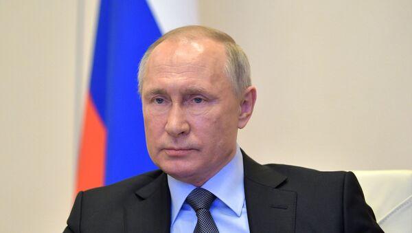 Президент РФ В. Путин провел совещание по развитию ситуации с коронавирусом - Sputnik Аҧсны