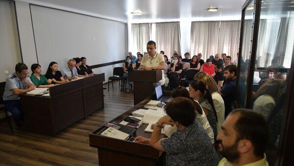 Заседание суда по делу Анзора Тарба  - Sputnik Абхазия