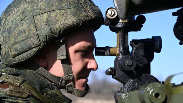 Учения ко Дню ракетных войск в Ростовской области - Sputnik Абхазия