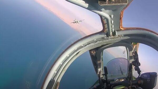ЛТУ с экипажами штурмовиков Су-25СМ российской авиабазы Кант в Киргизии - Sputnik Абхазия