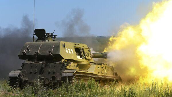 Тактические учения ЮВО в Ростовской области - Sputnik Аҧсны