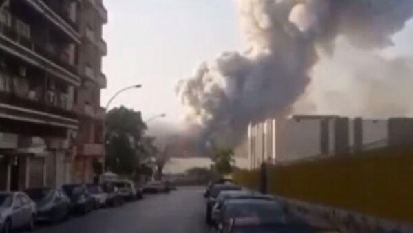 Очевидцы о взрыве в Бейруте - Sputnik Абхазия