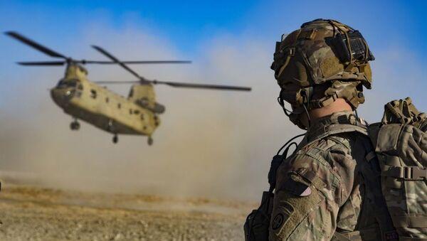 Американские военные на юго-востоке Афганистана - Sputnik Абхазия