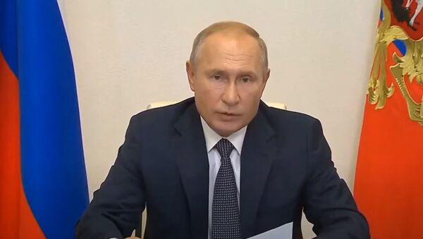 Путин объявил о регистрации первой российской вакцины от COVID-19 - Sputnik Абхазия