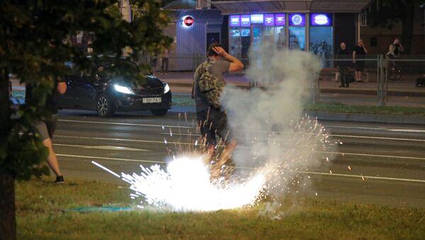 Протесты и беспорядки в Минске после президентских выборов - Sputnik Абхазия