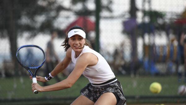 Мастер-класс теннисистки Амины Аншба - Sputnik Аҧсны