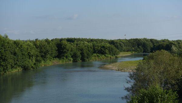 Граница по реке Ингур  - Sputnik Аҧсны