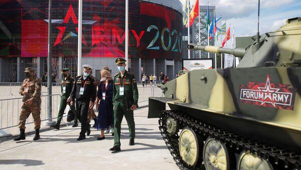 На выставке вооружений Международного военно-технического форума (МВТФ) Армия-2020 в военно-патриотическом парке Патриот - Sputnik Абхазия