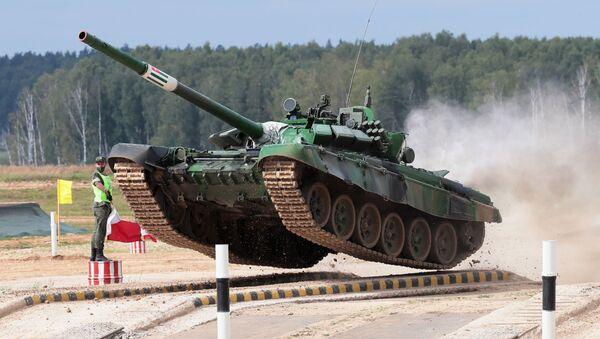 Танковый биатлон-2020. Индивидуальная гонка - Sputnik Абхазия