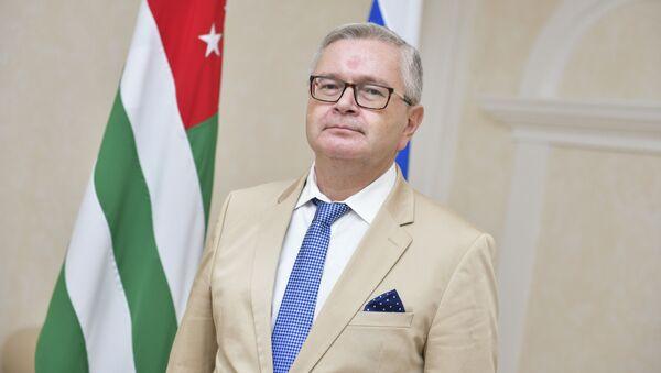 Посол России в Абхазии Алексей Двинянин   - Sputnik Абхазия