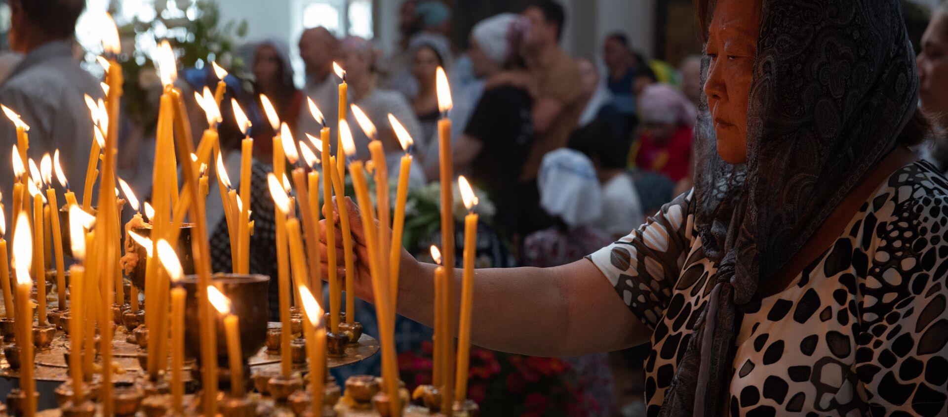Праздник успения отмечают православные христиане Абхазии - Sputnik Абхазия, 1920, 28.08.2020
