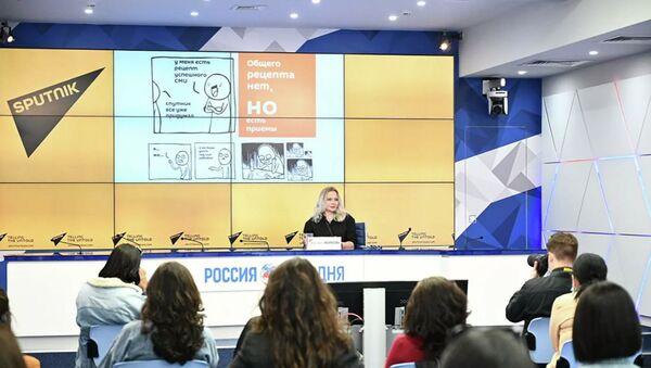 Абхазские журналисты посетили штаб-квартиру Sputnik - Sputnik Аҧсны