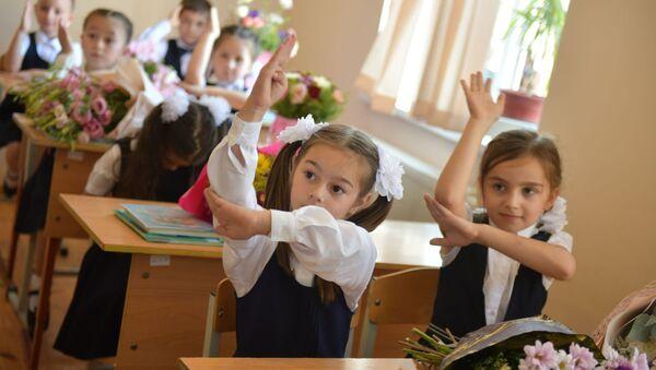 Первый звонок в Сухумских школах - Sputnik Аҧсны