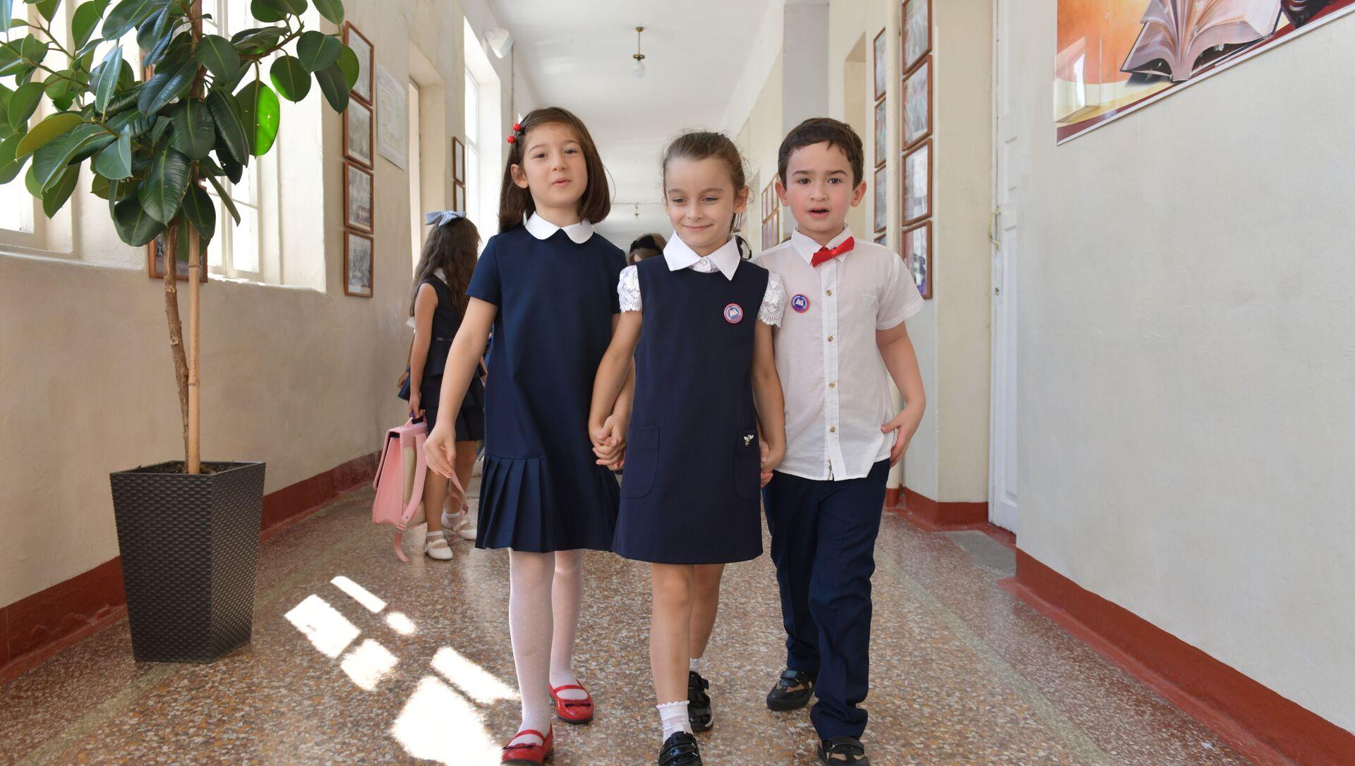Первый звонок в Сухумских школах  - Sputnik Аҧсны, 1920, 11.02.2021