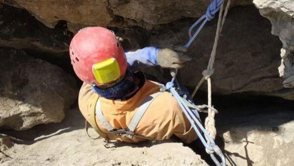 Начался второй этап операции по извлечению тела Демидова из пещеры на Арбаике - Sputnik Абхазия