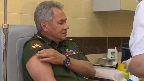 Сергей Шойгу сделал прививку российской вакциной от коронавируса - Sputnik Абхазия