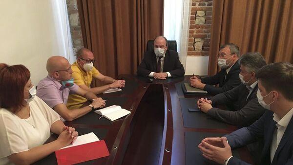 Заседание минздрава  - Sputnik Абхазия