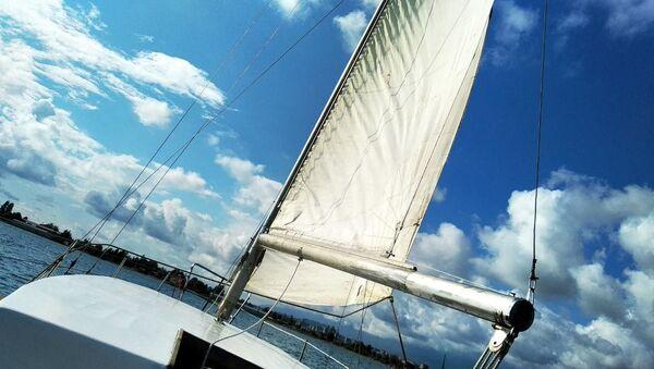 Яхта в море - Sputnik Абхазия