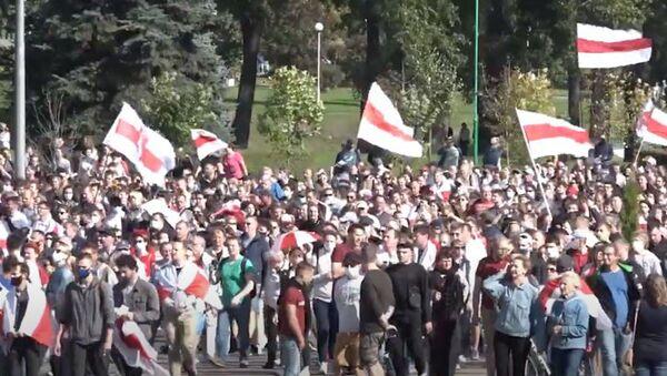 Марш героев: как прошла акция протеста в Минске - Sputnik Абхазия
