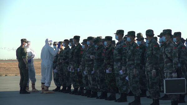 Кавказ-2020: китайские военные прибыли в Россию для участия в международных учениях - Sputnik Абхазия