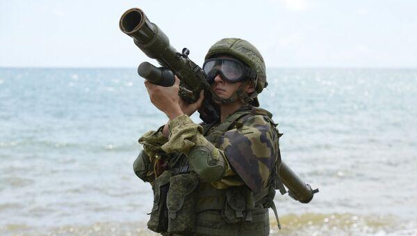 Зенитчики российской военной базы ЮВО в Абхазии поразили свыше 30 разведывательных беспилотников условного противника - Sputnik Аҧсны