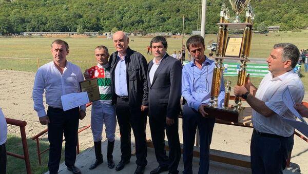 Скачки на Кубок президента Абхазии - Sputnik Аҧсны