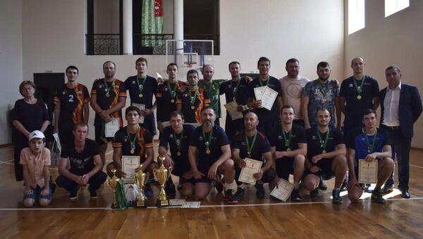 Республиканский турнир по волейболу среди мужских команд - Sputnik Аҧсны