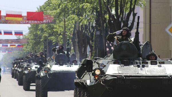 Репетиции парада к 30-летию Республики пройдут на главной площади Цхинвала - Sputnik Аҧсны