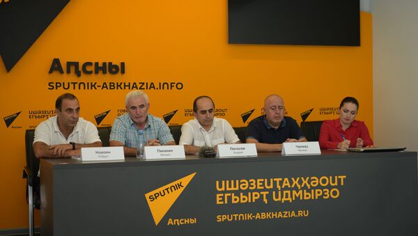 Пресс-конференция посвященная международному турниру по самбо на Кубок Победы - Sputnik Аҧсны