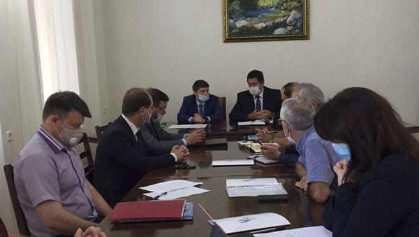 Ученые Абхазии договорились о сотрудничестве с Северо-Кавказским университетом  - Sputnik Аҧсны