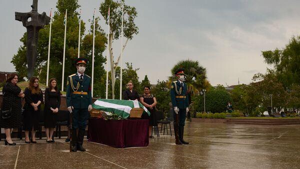 Церемония перезахоронения - Sputnik Аҧсны