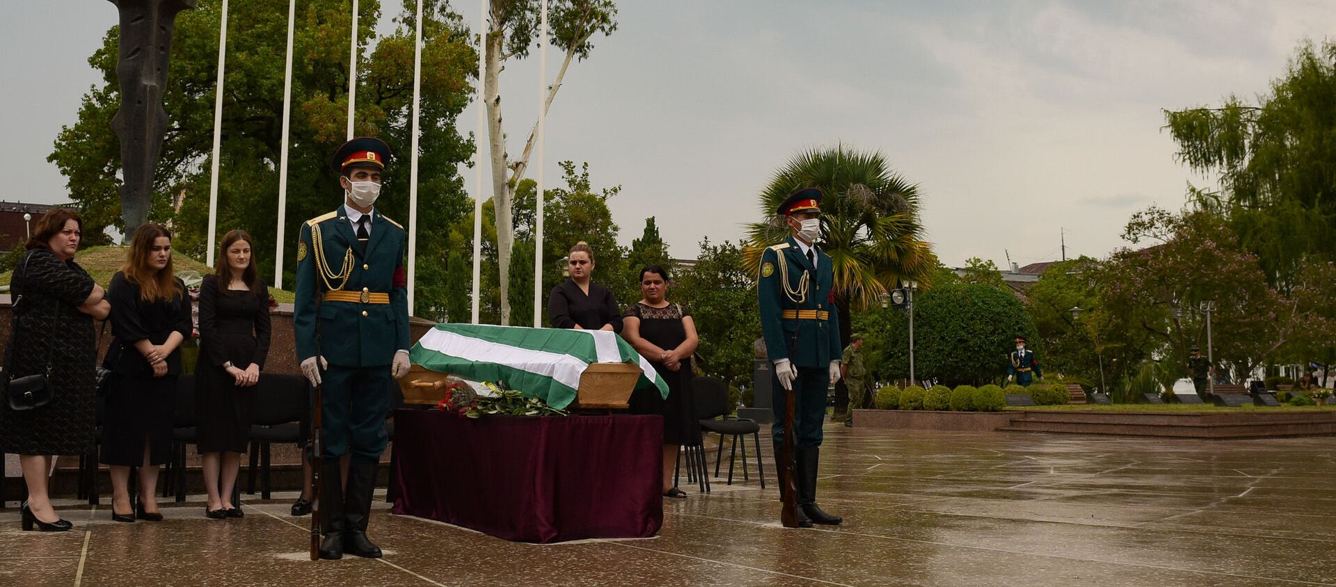 Церемония перезахоронения - Sputnik Абхазия, 1920, 26.09.2020