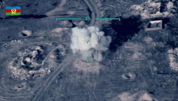 Боевые действия в Нагорном Карабахе - Sputnik Абхазия