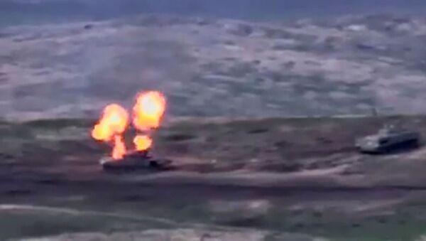 Боевые действия в Нагорном Карабахе - Sputnik Аҧсны
