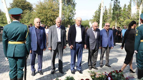 Президент Республики Абхазия Аслан Бжания принял участие в церемонии открытия в селе Атара - Sputnik Аҧсны