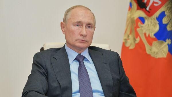 Президент РФ В. Путин провел совещание с членами правительства РФ - Sputnik Аҧсны