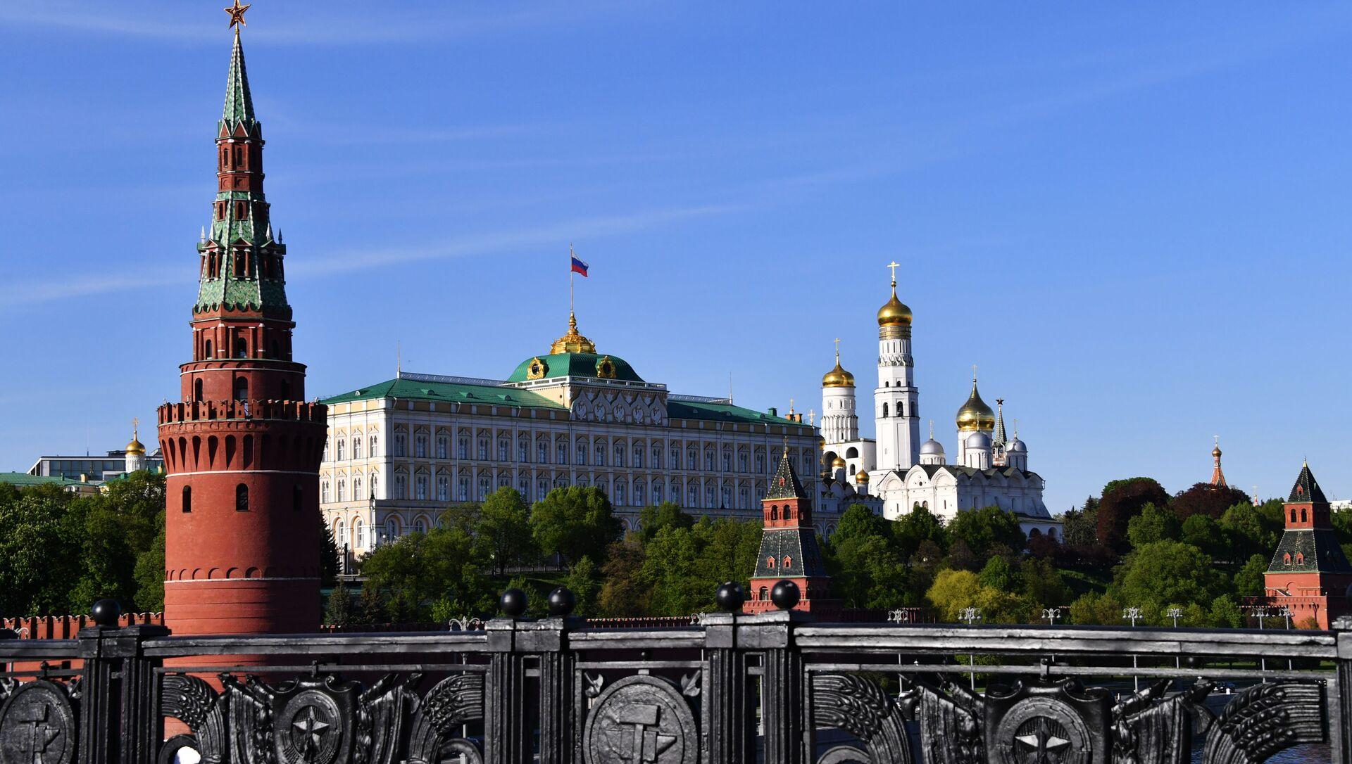Вид на Московский Кремль с Большого Каменного моста. - Sputnik Аҧсны, 1920, 23.09.2021