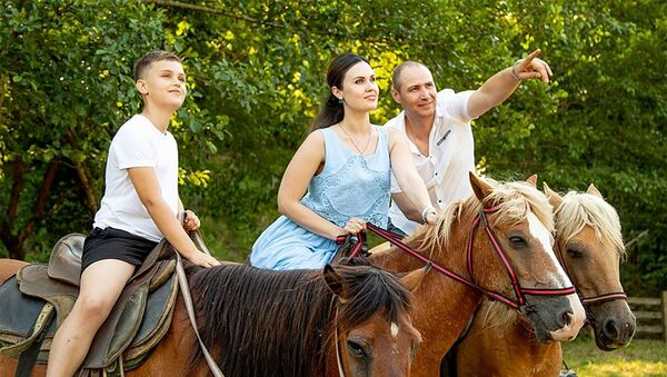 Конные прогулки в Абхазии - Sputnik Аҧсны