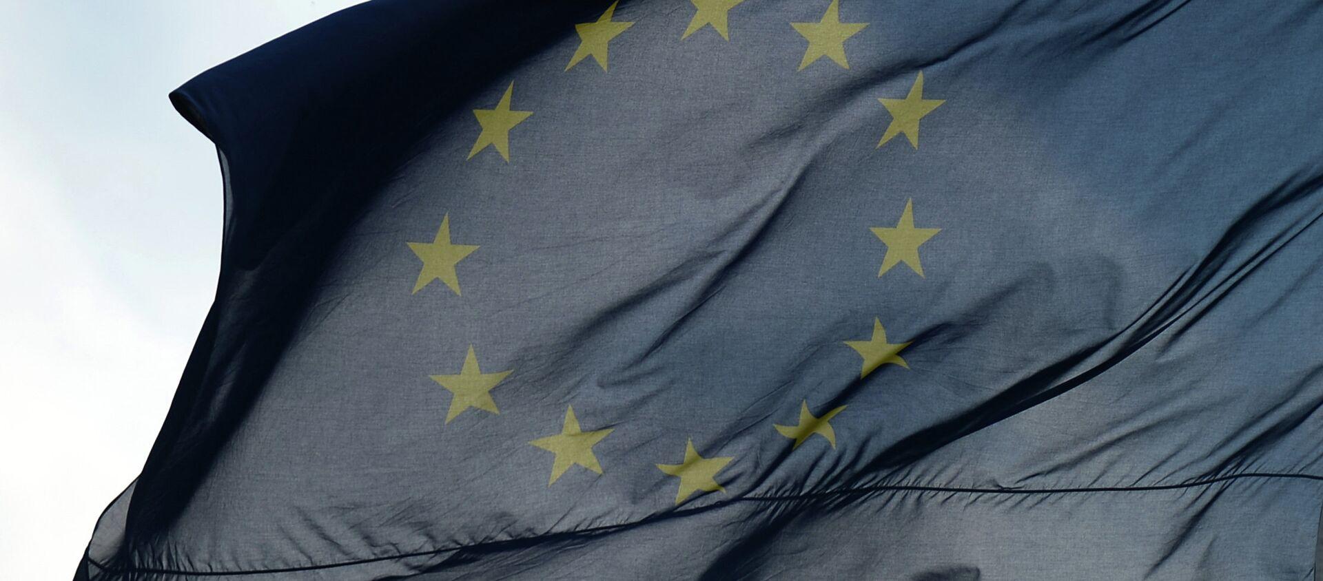 Флаги Евросоюза  - Sputnik Абхазия, 1920, 02.10.2020