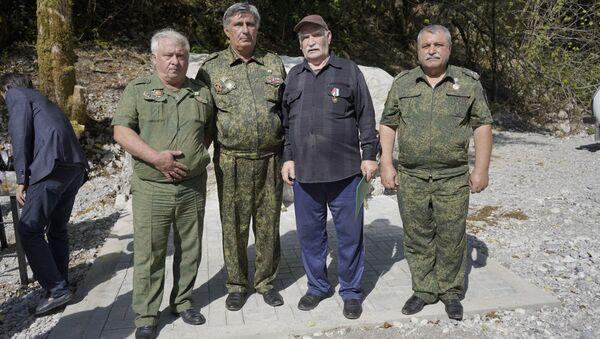 Открытие памятника в Жоэкваре - Sputnik Аҧсны