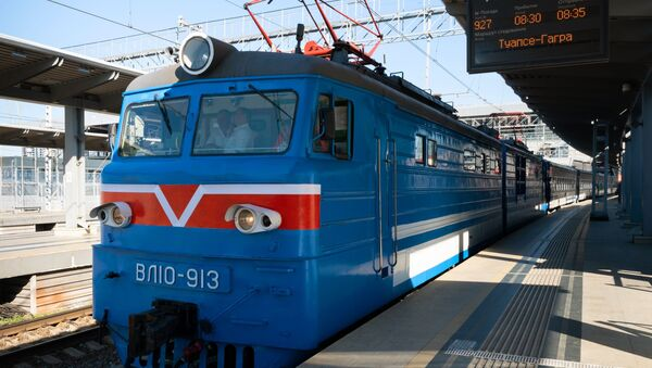 Новый туристический поезд Сочи - Sputnik Аҧсны