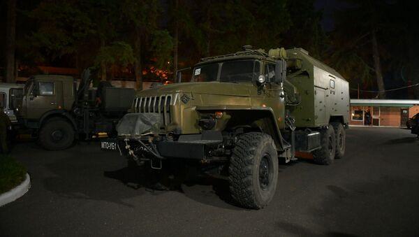 Мобильный госпиталь Минобороны России прибыл в Сухум - Sputnik Абхазия