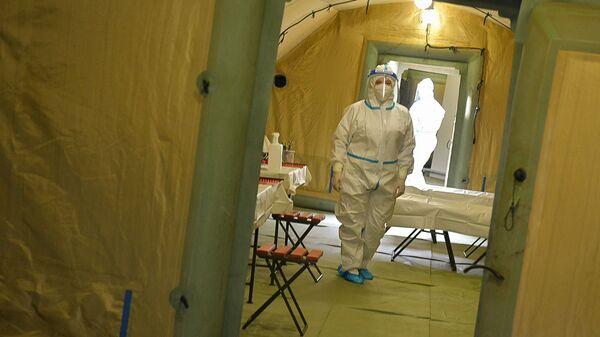 Российский военный госпиталь в Сухуме принял первых пациентов - Sputnik Абхазия