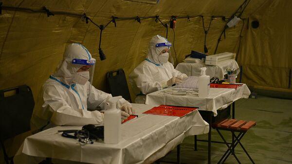 Российский военный госпиталь в Сухуме принял первых пациентов - Sputnik Аҧсны