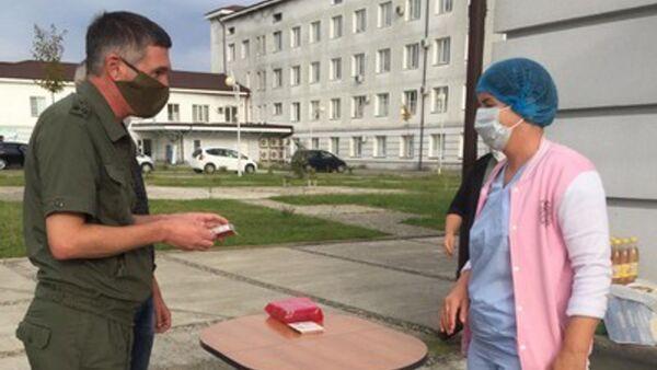 В Гудаутском ковидном госпитале состоялось награждение отличившегося за последние месяцы медицинского персонала  - Sputnik Аҧсны