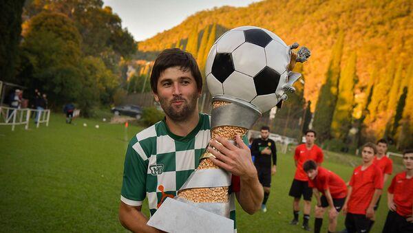 Финал чемпионата Абхазии по футболу - Sputnik Аҧсны